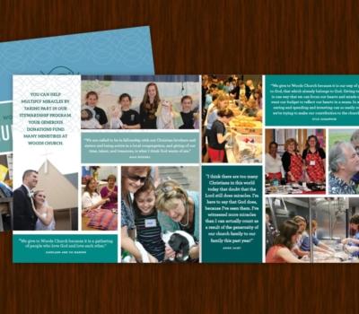 Brochure Design, book size