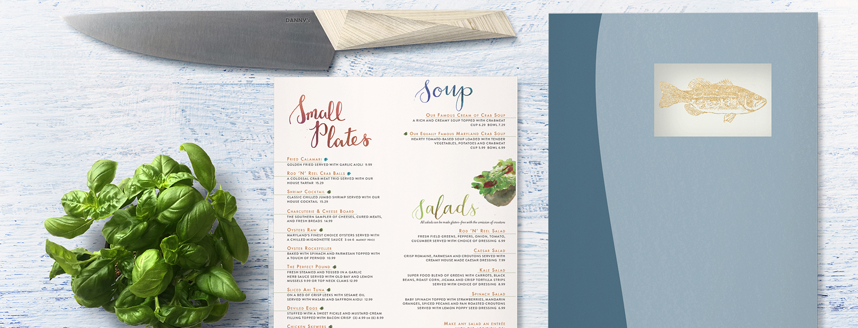 Menu Design | Creative Services