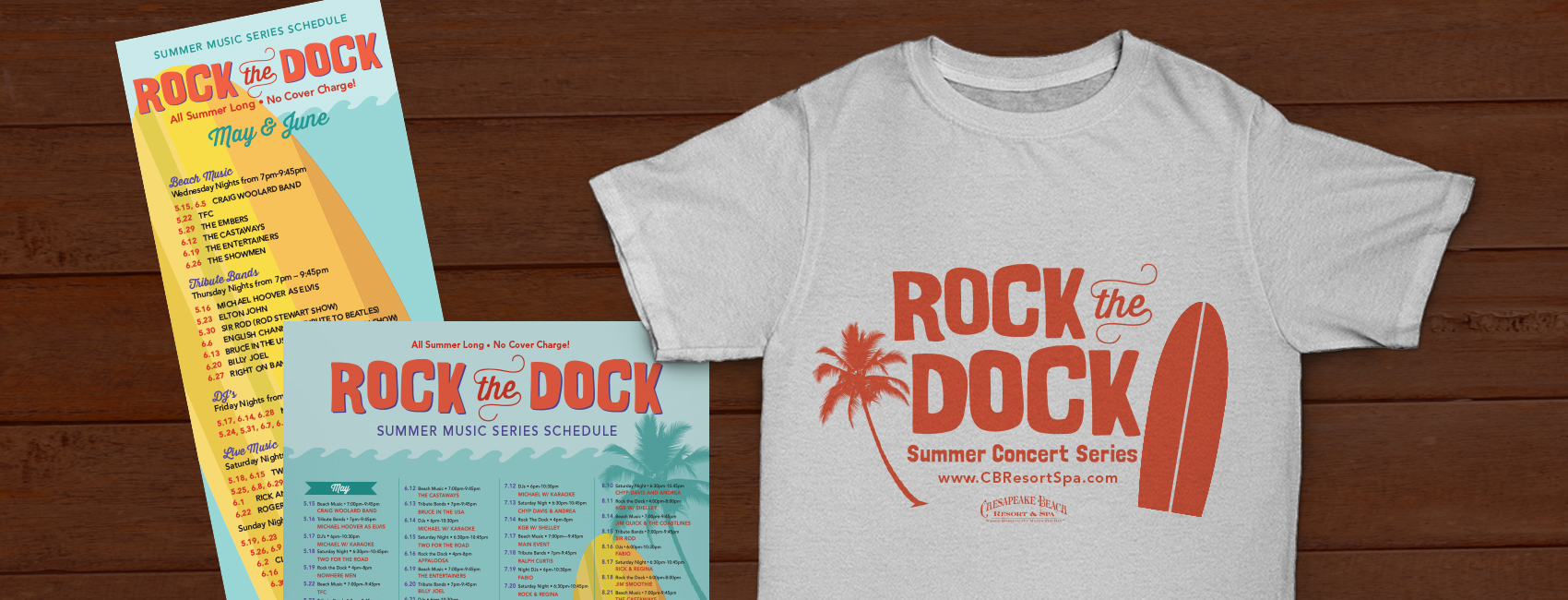 Campaign & Branding for Live Music Series