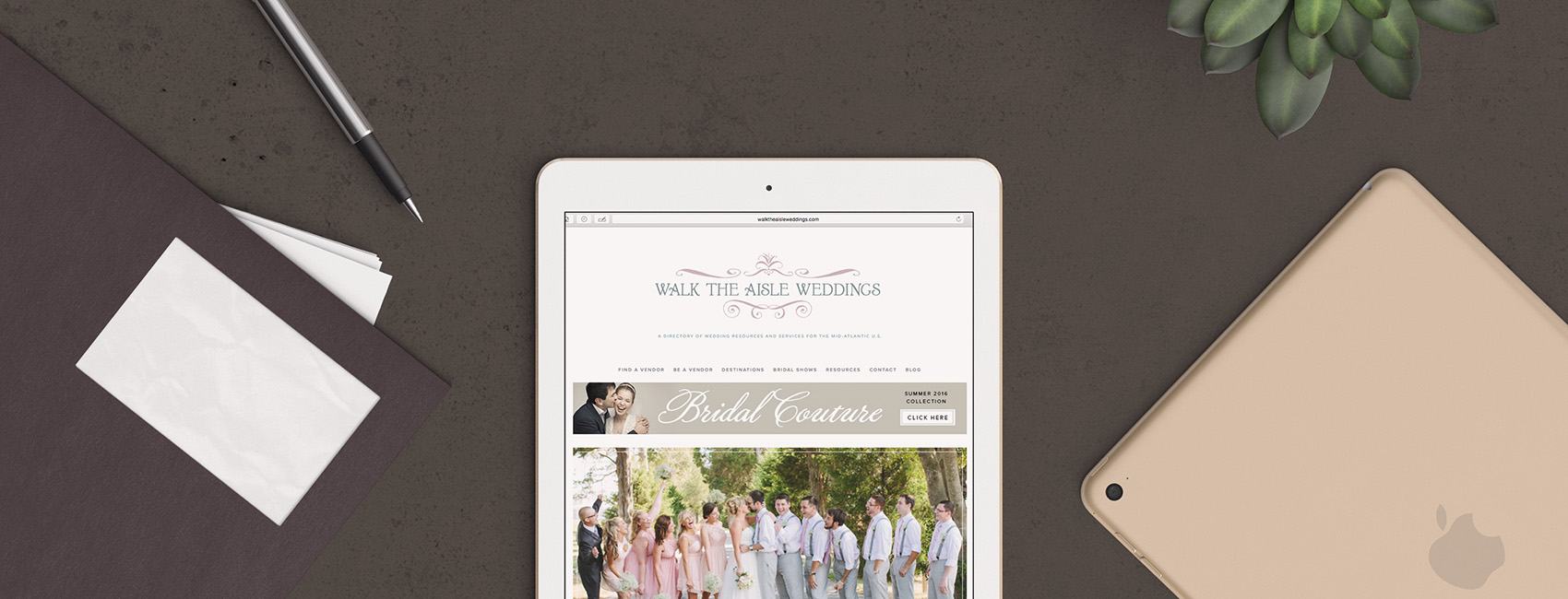 Wedding Website Design, Branding & Marketing