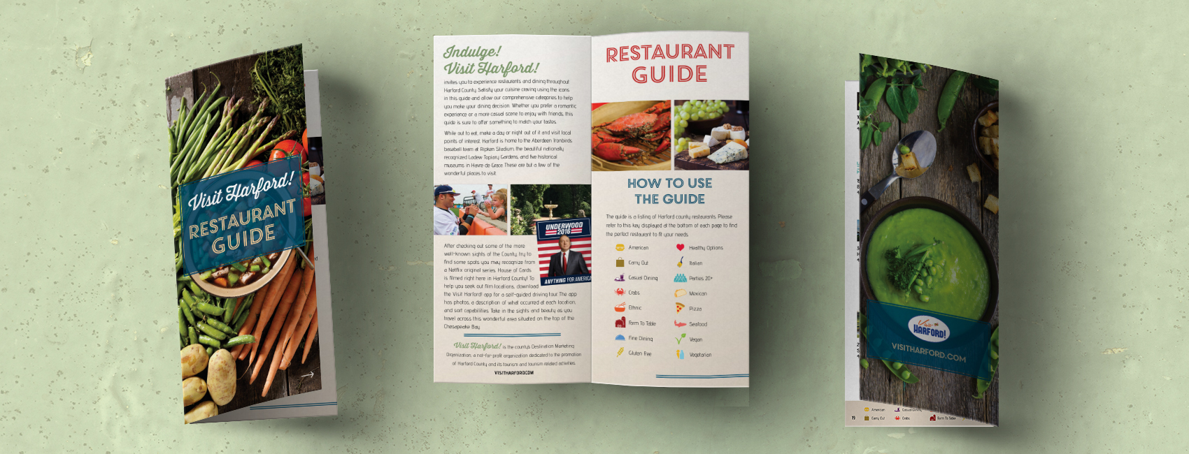 Harford County Restaurant Guide | Publication Design
